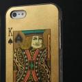 Чехол для iPhone 5 с рисунком на задней крышке в виде игральной карты, 5 видов, 2 цвета