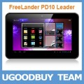 "FreeLander PD10 Leader 8GB - планшетный компьютер, Android 4.0.3, 7"" IPS, NVIDIA Tegra 2 (1.2GHz), 1GB RAM, 8GB ROM, Wi-Fi, HDMI, Bluetooth, GPS, 2MP фронтальная камера, 5MP задняя камера"