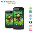 "ZTE V889M - смартфон, Android 4.0.4, MTK6577 (1GHz), 4"" TFT LCD, 512MB RAM, 4GB ROM, 3G, Wi-Fi, Bluetooth, GPS, 5MP задняя камера"