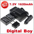 NP-FW50 - аккумулятор LI-ion + зарядное устройство + автомобильное зарядное устройство для Sony NEX-3 NEX-5C Alpha A55
