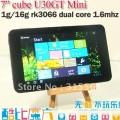 "Cube Mini U30GT - планшетный компьютер, Android 4.0.4, 7"" IPS, Rockchip RK3066 (2x1.6GHz), 1GB RAM, 16GB ROM, Wi-Fi, HDMI, 2MP фронтальная камера, 2MP задняя камера"