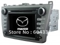 "CP-MA6000 - автомобильная магнитола, WinCE 6.0, 7"" TFT LCD, Touch Screen, GPS + 2GB MAP, TV/FM, Bluetooth для Mazda 6/Mazda6 Ultra (2008-2012)"