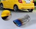 Насадка из нержавеющей стали для Jazz, Kia Soul, Nissan Tiida, Versa