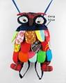 Рюкзак детский в виде совы, 9 цветов на выбор