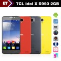 "TCL Idol X S950 - Смартфон, Android 4.2.2, Dual SIM, MTK6589T 1.5GHz, 5"", 2GB RAM, 32GB ROM, GSM, WI-Fi, Bluetooth, GPS, основная камера 13.1MP"