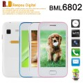 "BML6802 - смартфон, Android 4.1, SP6820A 1.0GHz, 3.5"" TFT, 2 SIM-карты, 256МБ RAM, 256МБ ROM, GSM, Wi-Fi, основная камера 2МП"