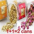 Китайский травяной чай жасмин+роза, 80 г