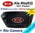 "ND1830 - Автомагнитола для Kia K2 New Rio, 8"" ,DVD, GPS"