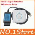 Профессиональный, диагностический сканер Fiat F-Super, usb для Fiat / Alfa Romeo / Lancia