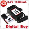 SLB-1137D  - 2 аккумулятора + зарядное устройство + автомобильное зарядное устройство для Samsung TL34HD NV106 HD i85 i100
