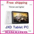 "JXD S6600 - планшетный компьютер, Android 4.0.4, Allwinner A13 (1.2GHz), 7"" TFT LCD, 512MB RAM, 8GB ROM, Wi-Fi, 0.3MP фронтальная камера"