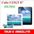 "Cube U23GT - планшетный компьютер, Android 4.0.4, 8"" IPS, Rockchip RK3066 (1.5GHz), 1GB RAM, 16GB ROM, Wi-Fi, 0.3MP фронтальная камера"