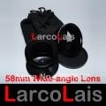 Широкоугольный объектив  0.45x 58 mm для макросъемки