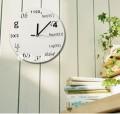 Настенные часы для ботаника