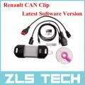 Диагностический инструмент для автомобилей Renault с клипсой на CAN-шину