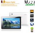 "Aoson M723 - планшетный компьютер, Android 4.1, Actions ATM7029 ARM Cortex A9 Quad Core 1.2Ghz, 7.0"" HD, 1GB RAM, 8GB ROM, Wi-Fi, MINI HDMI, основная камера 2МП и фронтальная камера 0.3МП"