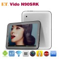 "Vido N90SRK - планшетный компьютер, Android 4.1, Rockchip RK3188 Quad Core 1.6-1.8Ghz. 9.7"" HD, 1GB RAM, 16GB ROM, поддержка карт microSD, Wi-Fi, HDMI. OTG, основная камера 2МП и фронтальная камера 0.3МП"