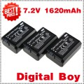 NP-FW50 - 3 аккумулятора LI-ion для Sony NEX3C NEX5 NEX3 NEX-5 NEX-3