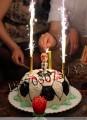 Фейерверк для торта, 5 шт