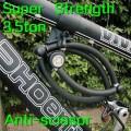 Противоугонное устройство 4-х секционное для велосипеда/мотоцикла, суперпрочное