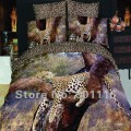 Комплект постельного белья  Дикий леопард