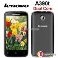 "Lenovo A390t - смартфон, Android 4.0, MT6577 1GHz, 4"", 512Mб RAM, 4Гб ROM, GSM, Wi-Fi, Bluetooth, GPS, основная камера 5.0МП"