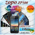 "ZOPO ZP500 - смартфон, Android 4.0.3, MTK6575 (1GHz), 4"" TFT LCD, 512MB RAM, 4GB ROM, 3G, Wi-Fi, GPS, Bluetooth, 5MP камера"