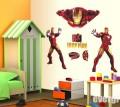 """Декоративные наклейки на стены """"Железный человек"""" для детской"""
