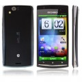 "X18i - смартфон, Android 2.3, 4.1"" сенсорный экран, камера 3MP, 3G, Wi-Fi, GPS, 2 SIM"