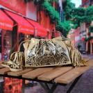 Женская сумка с кисточками
