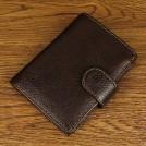 Кожаный мужской ретро кошелёк