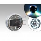 Светодиодная лампа для автомобильного колеса 12 LED, солнечные вспышки