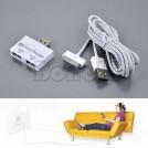 Разветвитель на два USB с кабелем для Iphone/ Ipad