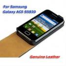 Кожаный чехол для Samsung Galaxy Ace S5830