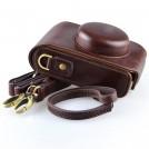 DSTE D6 - кожаный чехол-сумка для камеры Leica