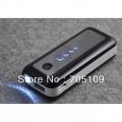 Внешний аккумулятор емкостью 5600мАч c зарядным устройством для iphone/SAMSUNG Galaxy с фонариком