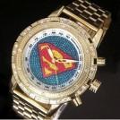 Мужские кварцевые часы Супермен