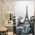 """Занавеска для ванной """"Париж"""""""