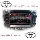 "MIC-45 - автомобильная магнитола, 7"" TFT LCD, Touch Screen, GPS, 128MB RAM, TV/FM, MP3/MP4, CD/DVD, Bluetooth для Toyota RAV4"