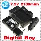 LPE6 - батарея LI-ION 2100 мАч, зарядное устройство, зарядное устройство для авто: для камер Canon 5D Mark II 7D 60D