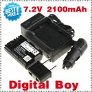 LP-E6 - аккумулятор + зарядное устройство + автомобильная зарядка для anon 5D Mark II 7D 60D