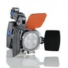 VL005 - Профессиональная лампа освещения для камеры/видеокамеры, 4-LED, 12W, 600Lux