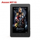 "Aoson M71G - планшетный компьютер, Android 4.0.3, 7"" TFT LCD, All Winner A10 (1.2GHz), 1GB RAM, 8GB ROM, Wi-Fi, HDMI, Bluetooth, 3G, 1.3MP фронтальная камера"
