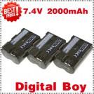 BP-511 - 3 аккумулятора для Canon BP511 EOS10D 20D 20Da 300D 30D 5D 60D