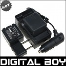 VBN130 - аккумулятор + зарядное устройство + автомобильное зарядное устройство для Panasonic HDC-HS900 HDC-TM900 HDC-SD800