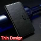 Кожаный чехол для Samsung Galaxy S4 с отделением для пластиковых карт и купюр, и подставкой