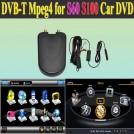 Автомобильный TV-тюнер/приемник для DVD проигрывателя S60 S100, MPEG-2/MPEG-4