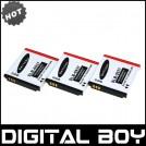 SLB-0937 - 3 аккумулятора Li-ion для Samsung L730 L830 i8 NV33 NV4 ST10 PL10