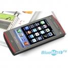 """X6 - мобильный телефон, сенсорный экран 2,8"""" и две сим-карты"""