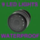 ZM-2831 - инфракрасная парковочная камера, 9 LED-светодиодов